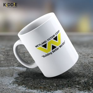 Taza Mug Alien (Weyland- Yutani Corp.) – Cerámica Importada