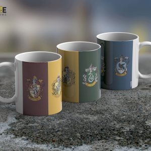 Taza Mug Harry Potter All Houses – Cerámica Importada