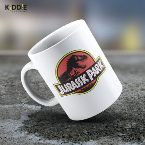 Taza Mug Jurassic Park Logo – Cerámica Importada