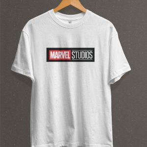 Remera Estampada Unisex Marvel Studios – Blanca