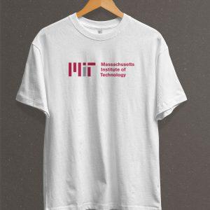 Remera Estampada Unisex MIT – Blanca
