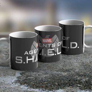 Taza Mug S.H.I.E.L.D. Logo – Cerámica Importada