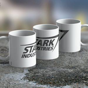 Taza Mug Stark Industries White – Cerámica Importada