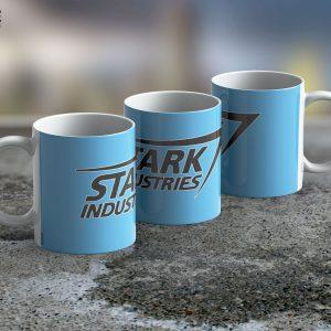 Taza Mug Stark Industries LB – Cerámica Importada