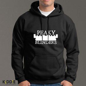Buzo Estampado Hoodie Peaky Blinders  – Negro