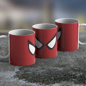 Taza Mug Spiderman Eyes – Cerámica Importada