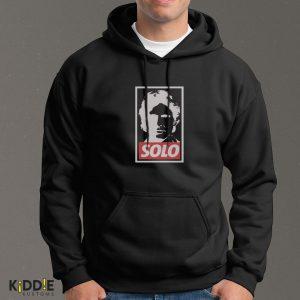 Buzo Estampado Hoodie Han SOLO – Negro