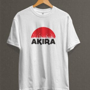 Remera Estampada Unisex Akira – Blanca