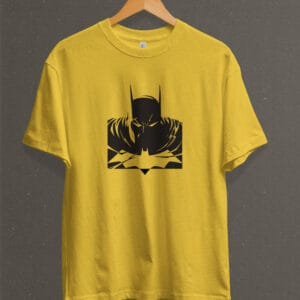 Remera Estampada Unisex Batman – Amarilla