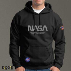 Buzo Estampado Hoodie NASA Special Edition II – Negro