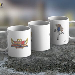 Taza Mug Captain Tsubasa – Cerámica Importada
