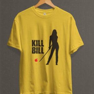 Remera Estampada Unisex Kill Bill – Amarilla