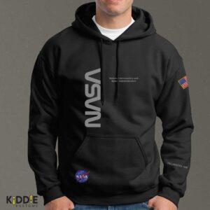 Buzo Estampado Hoodie NASA Special Edition III – Negro