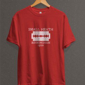 Remera Estampada Unisex Small Heath, Birmingham – Roja