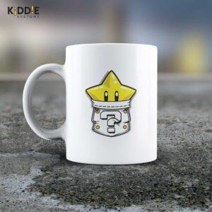 Taza Mug Super Mario Star – Cerámica Importada