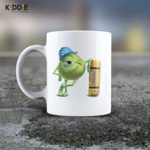Taza Mug Monsters Inc. Mike Wazowski – Cerámica Importada