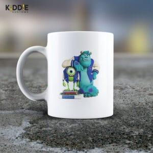 Taza Mug Monsters Inc. Mike / Sullivan- Cerámica Importada