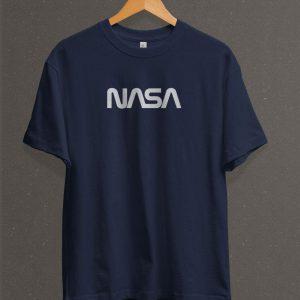 Remera Estampada Unisex NASA – Azul Marino