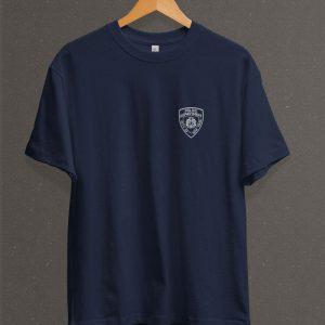 Remera Estampada Unisex NYPD – Azul Marino