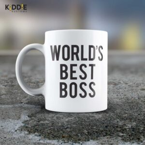 Taza Mug World's Best Boss – Cerámica Importada