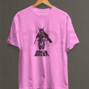 Remera Estampada Unisex Saint Seiya Andromeda – Rosa