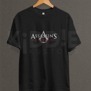 Remera Estampada Unisex Assassins Creed – Negra