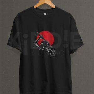 Remera Estampada Unisex Rurouni Kenshin – Negra