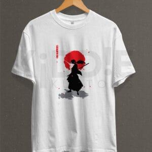 Remera Estampada Unisex Rurouni Kenshin – Blanca
