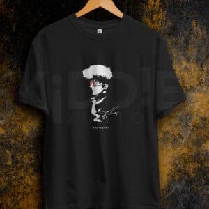Remera Estampada Unisex Cowboy Bebop – Negra