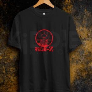 Remera Estampada Unisex Mazinger Z Red – Negra