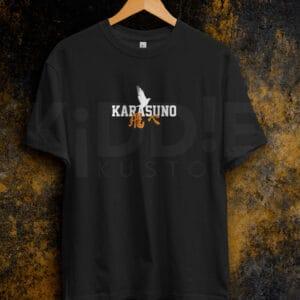 Remera Estampada Unisex Haikyuu Karasuno III – Negra