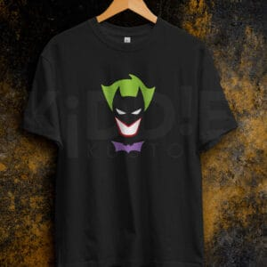 Remera Estampada Unisex Batman – Joker – Negra
