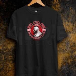 Remera Estampada Unisex Zangief Pro Wrestling Club – Negra