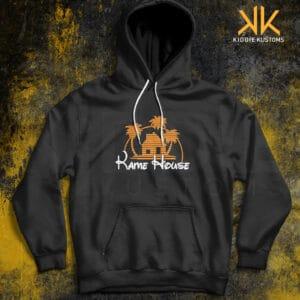 Buzo Estampado Hoodie Kame House – Negro