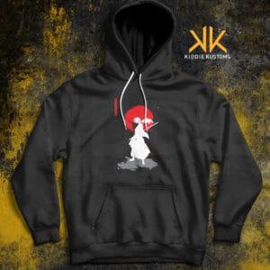 Buzo Estampado Hoodie Rurouni Kenshin – Negro
