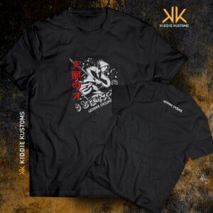 Remera Estampada Uchiha Sasuke – Negra