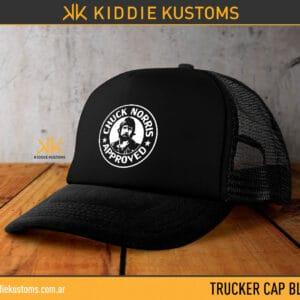 Trucker Cap Chuck Norris Approved – Negra