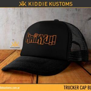 Trucker Cap Haikyuu Logo – Negra