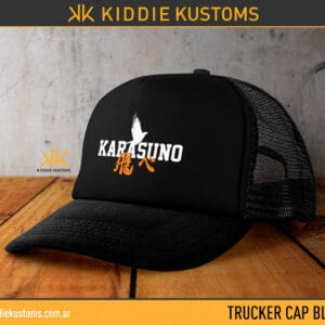 Trucker Cap Karasuno – Negra