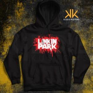 Buzo Estampado Linkin Park Splatt – Negro