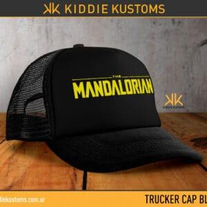 Trucker Cap The Mandalorian – Negra