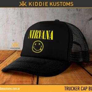 Trucker Cap Nirvana – Negra