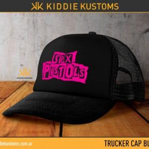Trucker Cap Sex Pistols – Negra