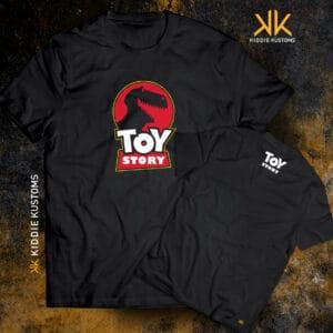 Remera Estampada Unisex Toy Story – Negra