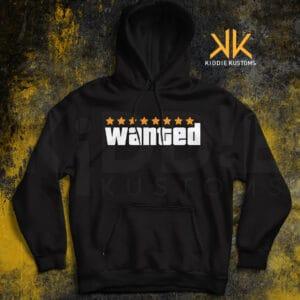 """Buzo Estampado GTA """"Wanted"""" – Negro"""