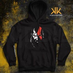 Buzo Estampado Kratos – Negro