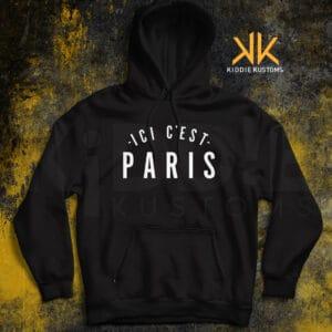 Buzo Estampado ICI C'EST PARIS – Negro
