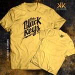 Remera Estampada Unisex Black Keys – Amarilla