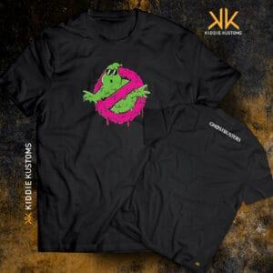 Remera Estampada Unisex Ghostbusters – Negra