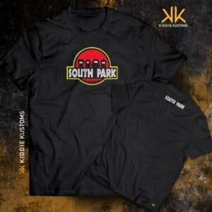 Remera Estampada Unisex Southpark – Negra